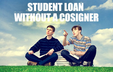 Student loan without a cosigner