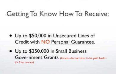 How to Get a Small Business Loan or Government Grant
