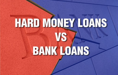 hard money loans vs bank loans
