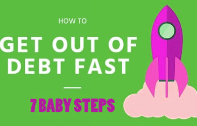 How to Get Out of Debt: 7 Baby steps