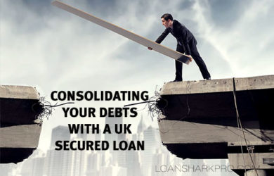 Consolidating your debts with a UK secured loan