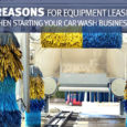 5 Reasons for Equipment Leasing to Start Your Car Wash Business