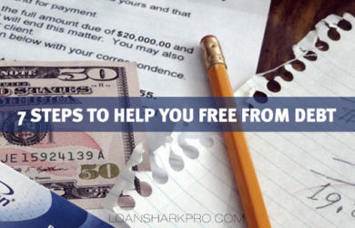 7 Steps to Help You Free From Debt