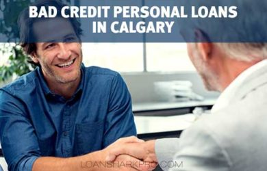 Bad Credit Personal Loans in Calgary