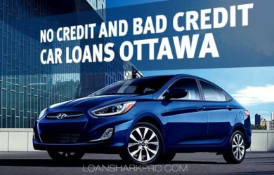 No Credit and Bad Credit Car Loans Ottawa